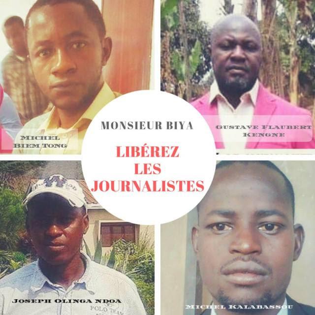 journalistes enfermés