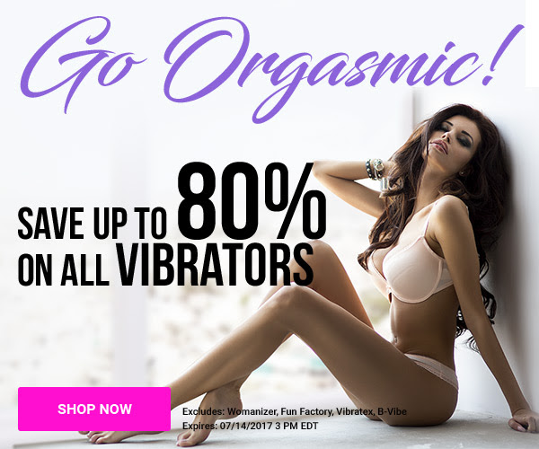 Up To 80% on ALL Vibrators