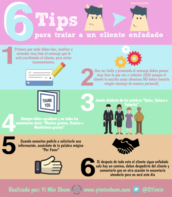 6 consejos para tratar con clientes enfadados