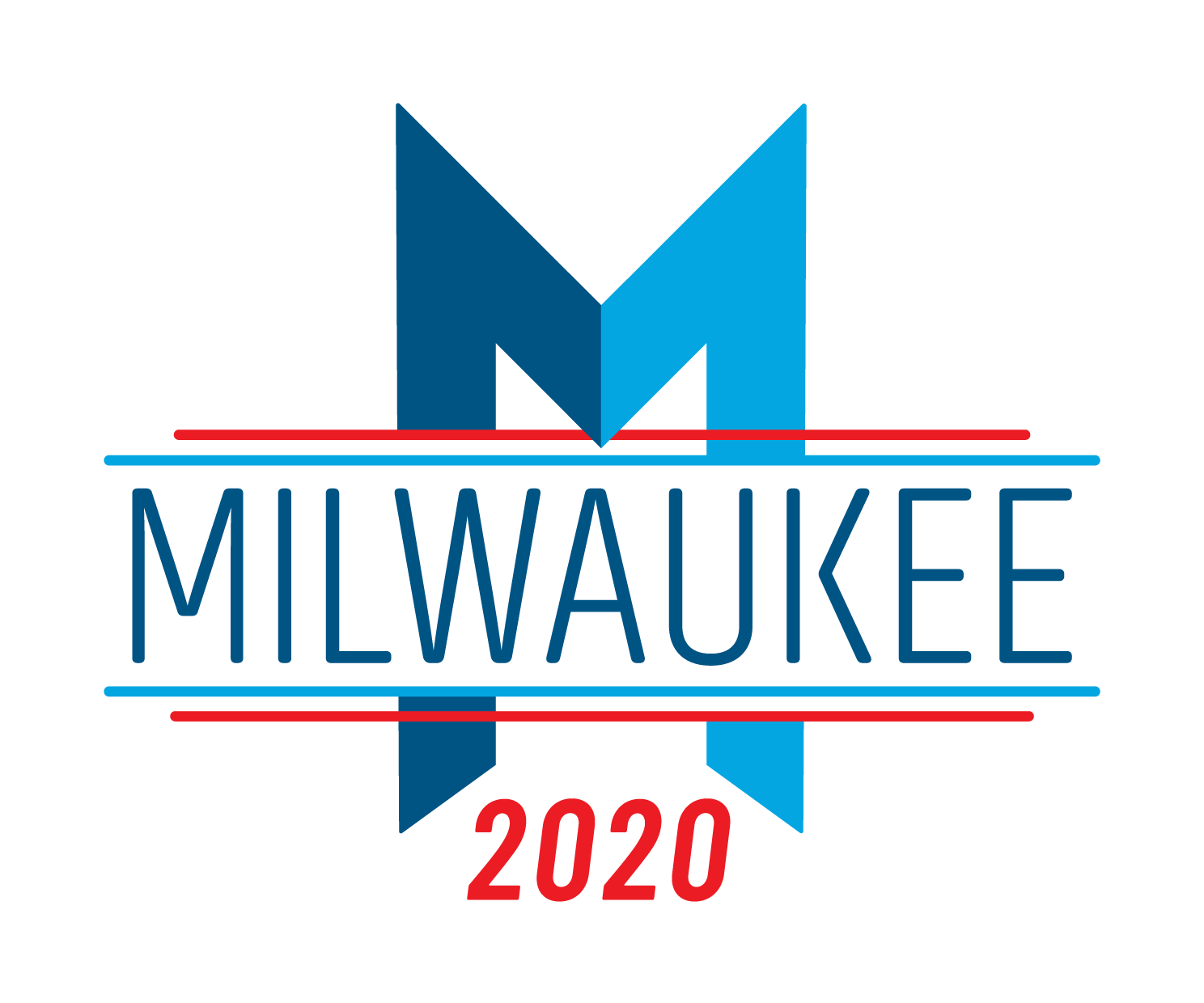 Milwaukee 2020 Host Committee logo