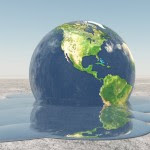 Climate change earth melting. Source Bruce Rolff, Shutterstock