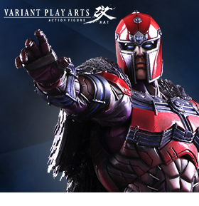 MARVEL PLAY ARTS KAI MAGNETO