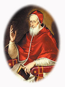 Saint Pius V did what Catholics have always done in times of acute danger - fly into the arms of the most powerful Mother of God