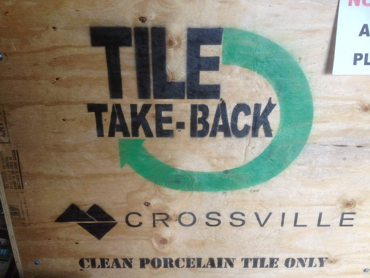 Crossville Tile Take-Back Crate-detail