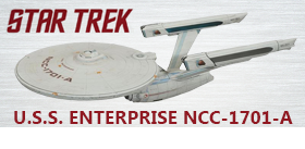 U.S.S. ENTERPRISE NCC-1701-A SHIP