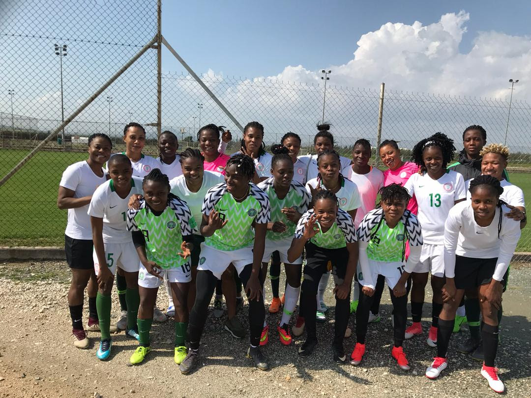 The Super Falcons finally have their first win of the Cyprus Women's Cup