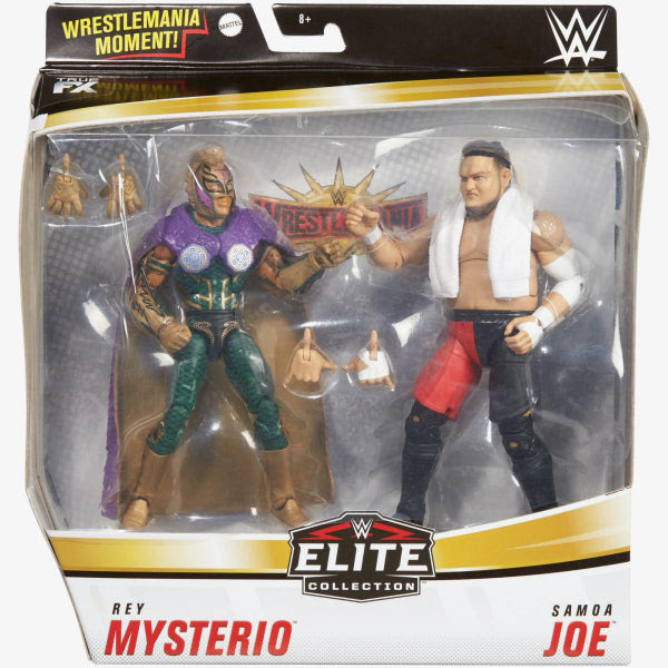 Image of WWE Rey Mysterio and Samoa Joe Elite Collection 2-Pack - AUGUST 2020