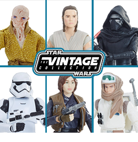 STAR WARS FIGURES & VEHICLES