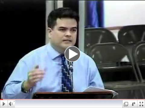 B193 Respicio Session Speech. 11/5/13