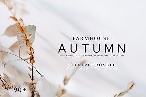 FARMHOUSE LIFE. AUTUMN.  90+