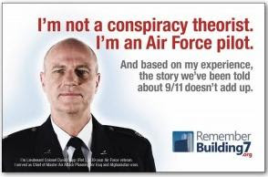 i am not a conspiracy theorist i am an air force pilot  true photo