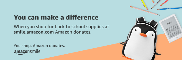 Earn AmazonSmile Donations today.