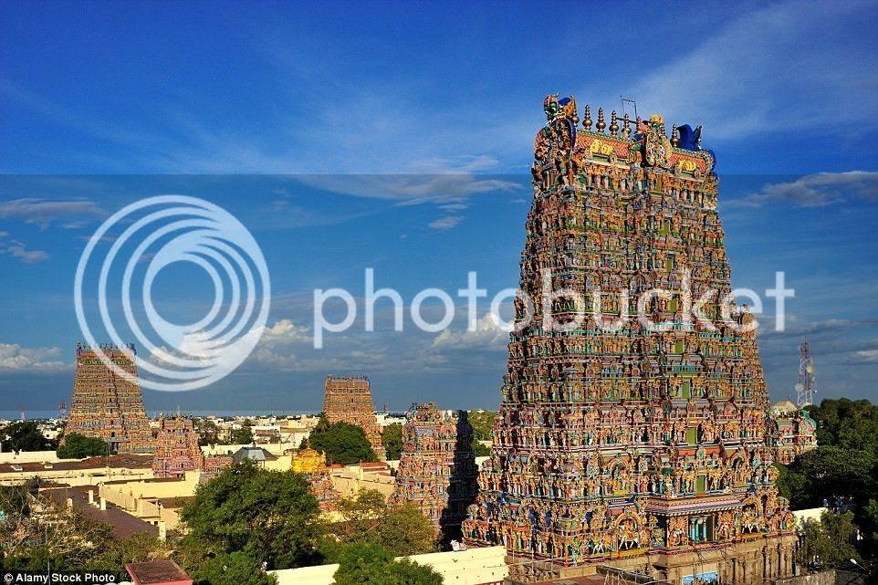 Đền là điểm nhấn của thành phố Madurai 2.500 năm tuổi.
