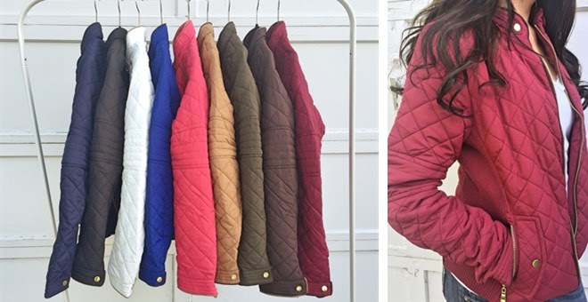 Quilted Jackets + More!