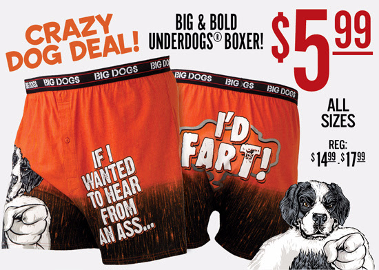 $5.99 Boxer - Weekend Crazy Do...