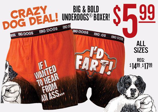 $5.99 Boxer - Weekend Crazy Do...