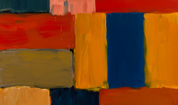 Detail from Sean Scully, 'Arles Abend Deep', 2017. Foundation Louis Vuitton, Paris © Sean Scully. Photo: courtesy the artist
