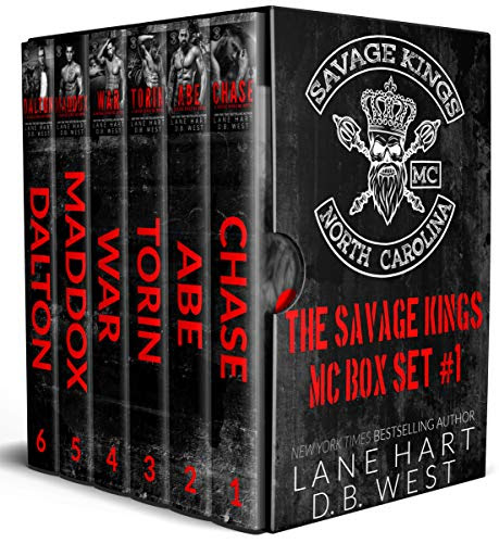 Cover for 'Savage Kings MC Box Set (Books 1-6)'