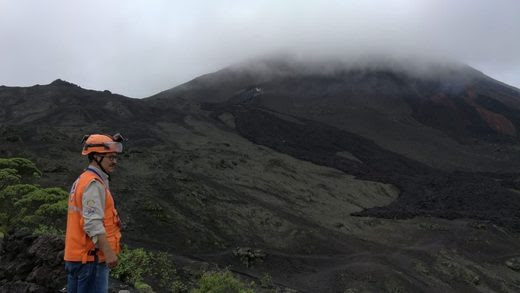 Volcán Pacaya.
