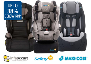 Save Up to  30% OFF Baby Car Seats & Boosters at DealsDirect.com.au