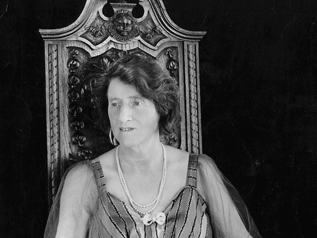 Marie Charlotte Carmichael Stopes (1880 - 1958) the English birth control pioneer. Original Publication: People Disc - HL0040 (Photo by Hulton Archive/Getty Images)