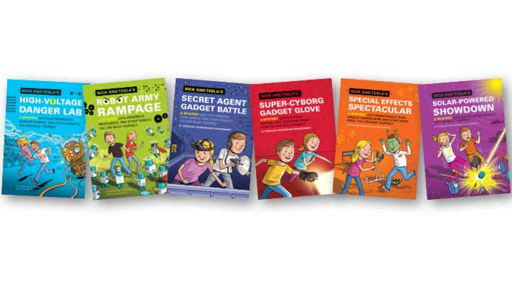 The Nick and Tesla Series Now Sold in 11 Languages!!! French & Dutch Still Available!