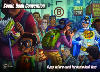 DC Spyfall Comic Book Convention Location deck