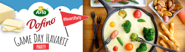 Arla Dofino® Game Day Havarti Party House Party