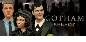 GOTHAM SELECT TV SERIES ACTION FIGURES