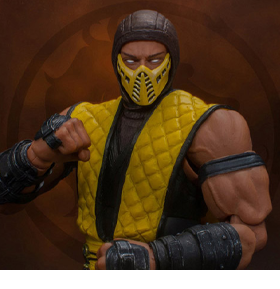 Mortal Kombat VS Series Scorpion 1/12 Scale SDCC 2020 Exclusive Figure