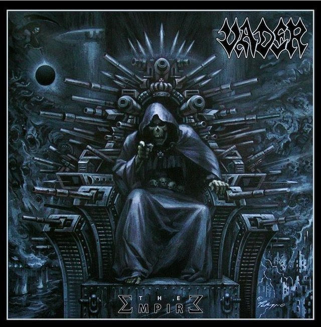 Vader The Empire Death Metal Album Cover