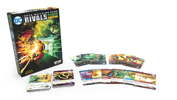 Cryptozoic Entertainment at New York Comic Con 2018 DC Deck-Building Game: Rivals — Green Lantern vs. Sinestro