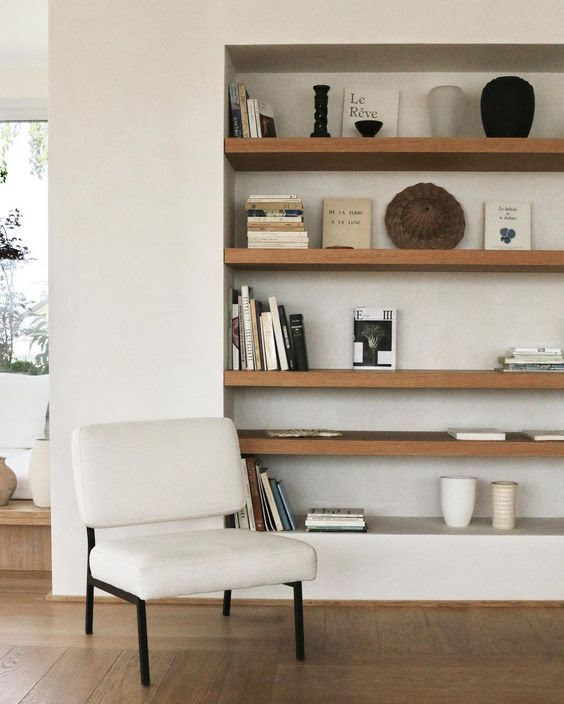 20+ Modern shelf inspiration - This Minimal House