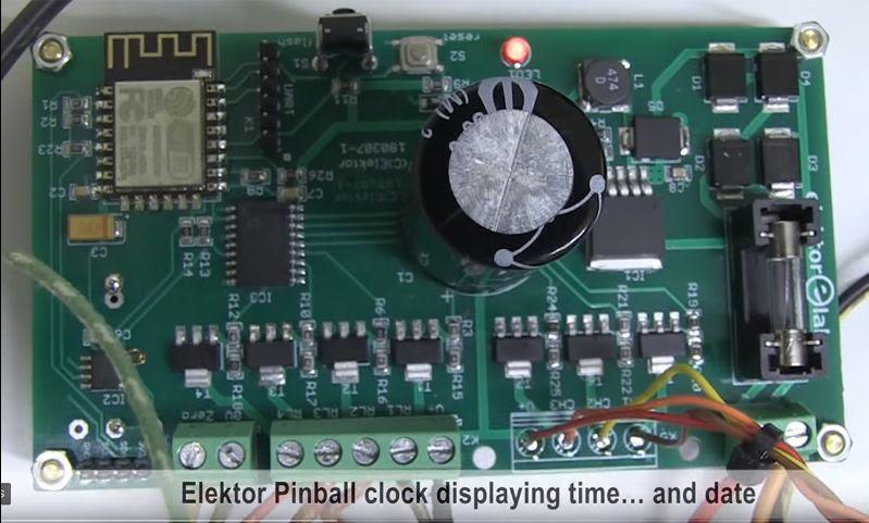 Elektor PinBall Clock