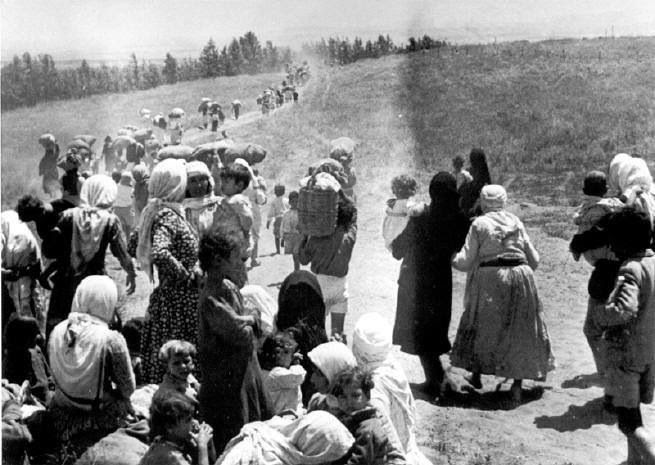 Image result for Palestinian refugees and old woman 1948/Images