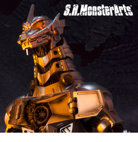 S.H.MONSTERARTS MFS-3 MECHAGODZILLA TYPE-3 KIRYU