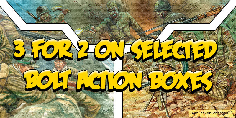 Black Friday 3 for 2 on Selected Bolt Action Boxes