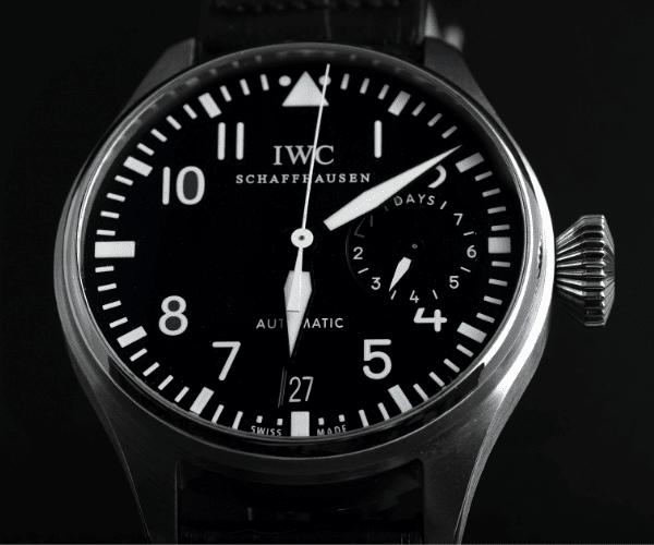 Big Pilot with arabic watch marker type