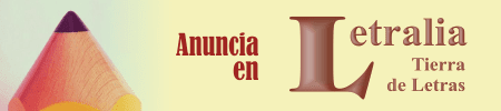 Anuncia en Letralia, Tierra de Letras