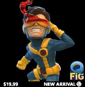 X-Men Q-Fig Cyclops Diorama