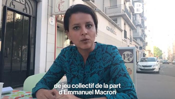 "Najat Vallaud-Belkacem : ""Emmanuel Macron n'a pas été loyal"""