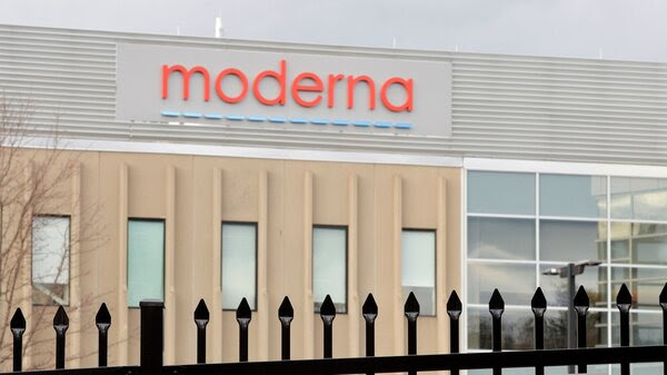 Moderna is making its COVID-19 vaccine at a company factory in Norwood, Mass.