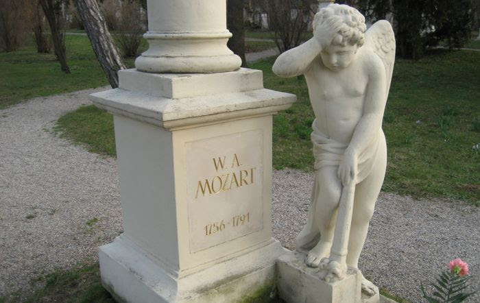 mozart piatra funerara