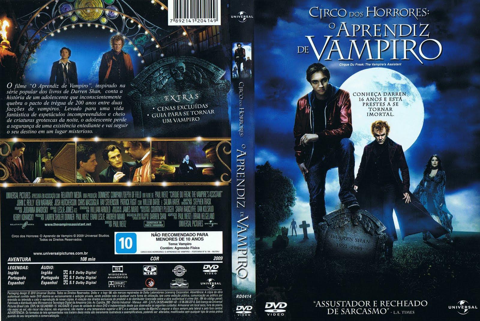 Circo dos Horrores: O Aprendiz de Vampiro Torrent – BluRay Rip 720p Dublado (2009)