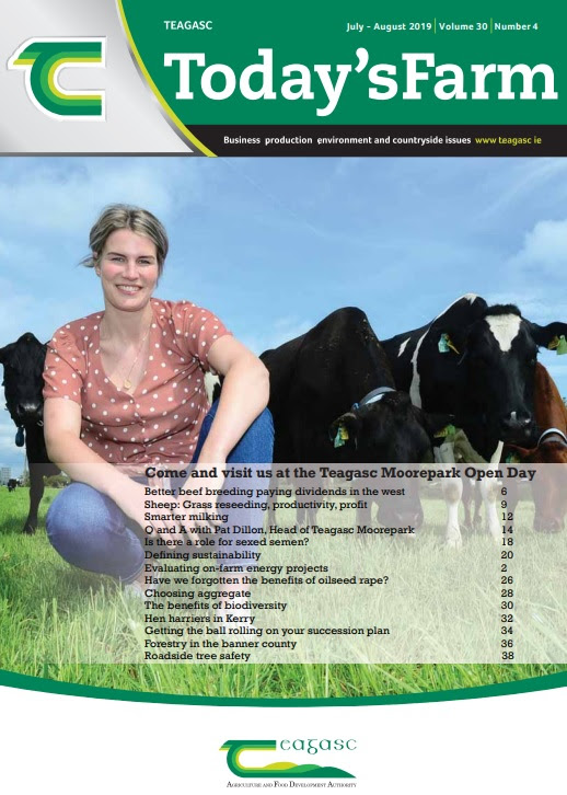 Cover of Today's Farm magazine for July-August