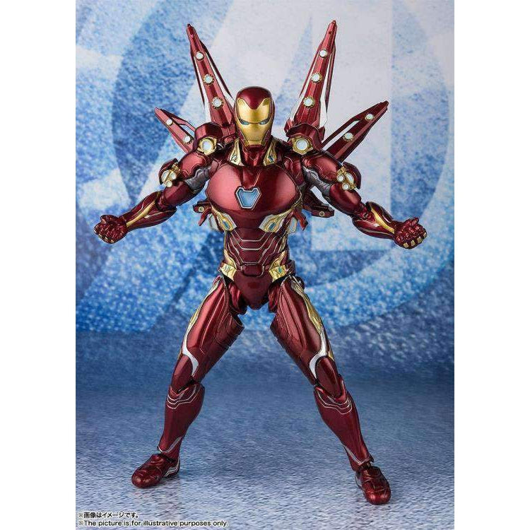 Image of Avengers: Endgame S.H.Figuarts Iron Man Mark L With Nano Weapon Set #2 (Japanese Release)