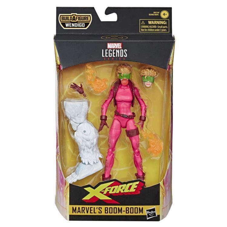 Image of X-Force Marvel Legends Wave 1 (Wendigo BAF) - Boom-Boom
