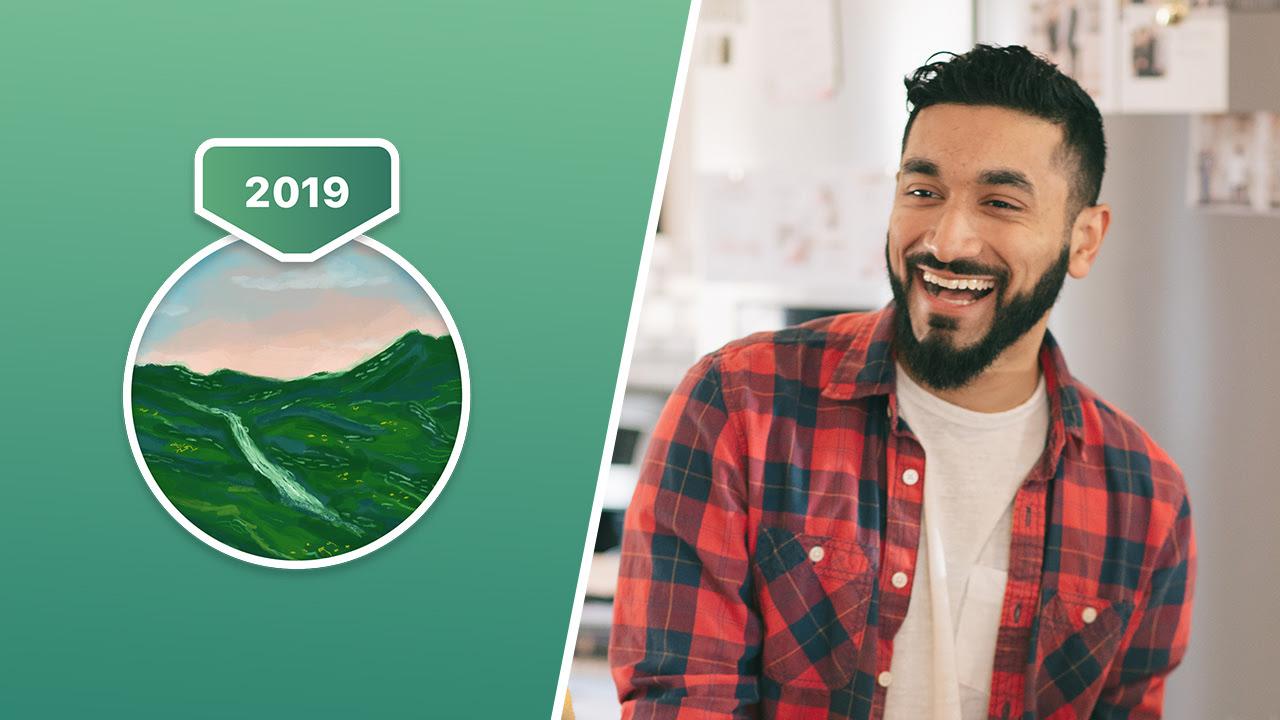 Desafio Semestral de 2019 - Homem sorrindo