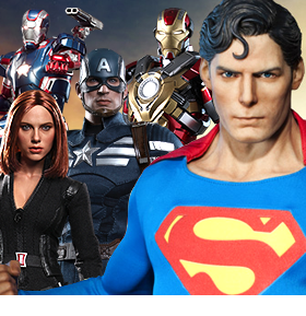 NEW SIDESHOW AND HOT TOYS IN STOCK