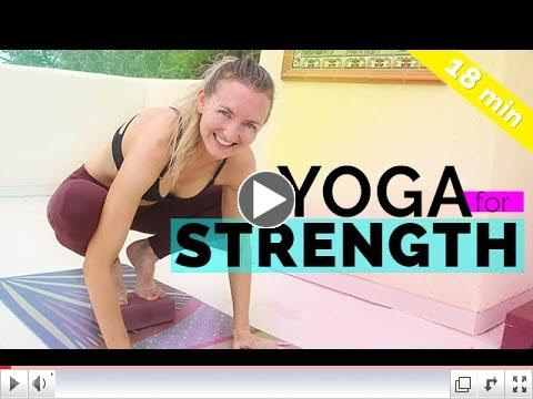 Yoga is starting to be more and more popular. Try a beginner video to check it out.